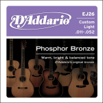 D'Addario Snaren EJ26 Custom Light