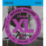 D'Addario Snaren Super Light EXL-120