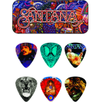 Plectrums collector Carlos Santana 6x medium