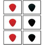 Dunlop plectrum Jazz I, II, III SET (6x)