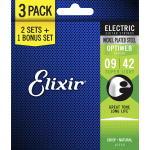Elixir elektrische snaren 16550 3-pack super-light 09-42 optiweb