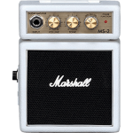 Marshall MS2W 1w mini batterij gitaarversterker wit